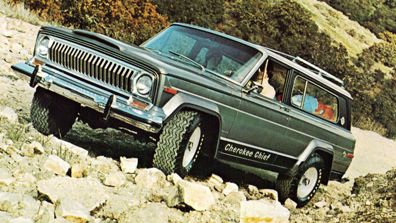 Jeep Cherokee SJ series
