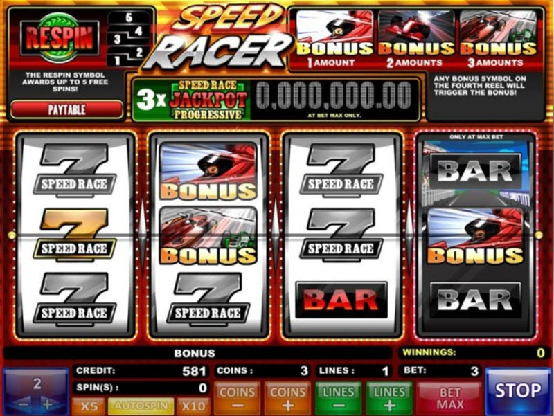 speed racer slot isoftbet